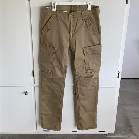 1c6c8beb015 Levi's Pants | Levis Commuter Cargo Khaki 34x32 | Poshmark